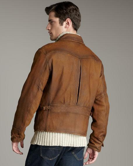 Delemar Reversible Newsboy Jacket
