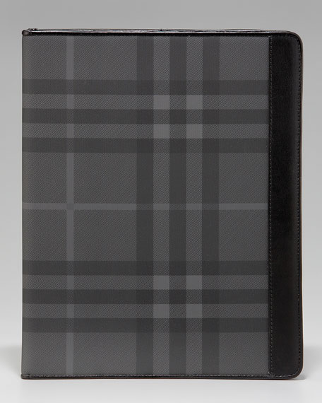 Check iPad Desk Case