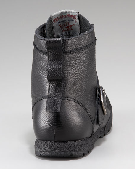 Ricky Leather Hi-Top Sneaker