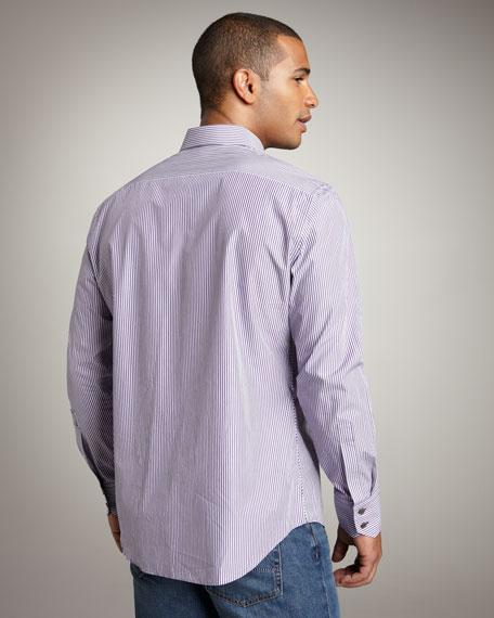 Castillo Striped Woven Shirt