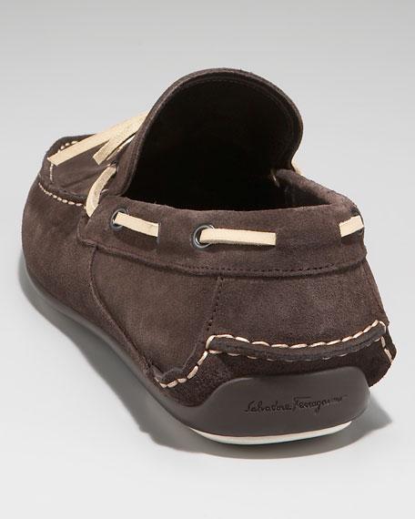 Mango Boat Shoe, Brown