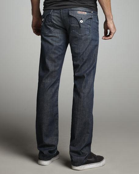 Straight-Leg Wilde Jeans