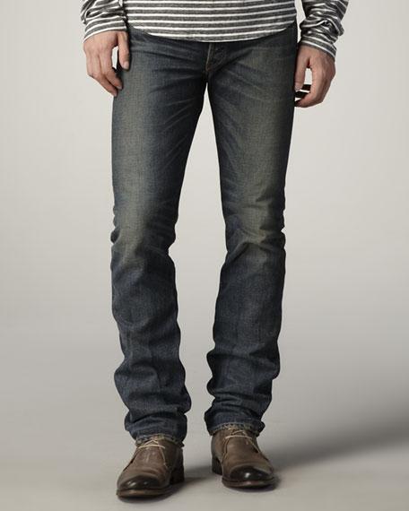 Apache Straight-Leg Selvedge Jeans