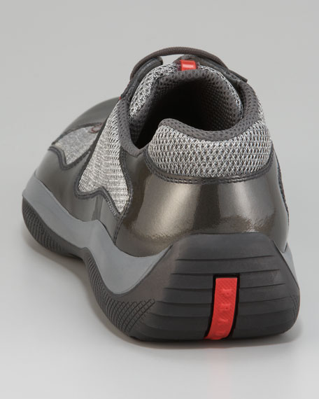 America's Cup Sneaker, Gray
