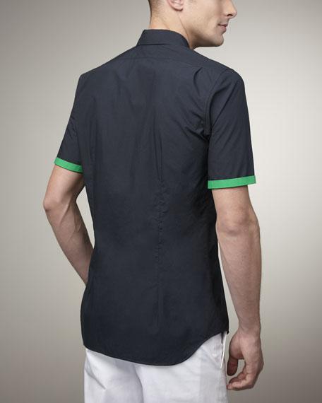 Short-Sleeve Button-Down Shirt