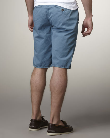 Hampton Shorts, Denim Blue