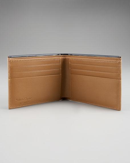 Two-Tone Wallet, Royal Blue