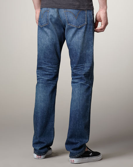 Ruler Union Straight-Leg Jeans