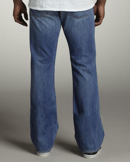 Brett Modern Bootcut Spring Sky Jeans