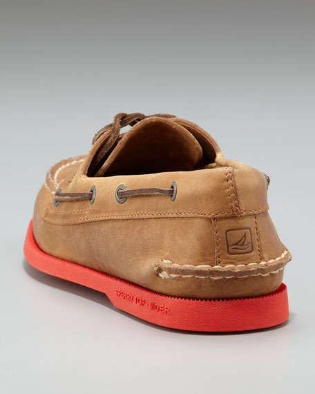 Brick-Sole Authentic Original Boat Shoe