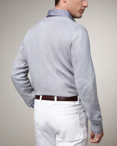 Cotton-Cashmere Sweater