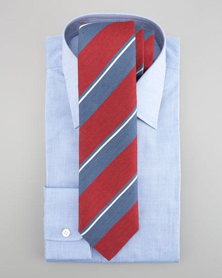 Solid Dress Shirt, Blue