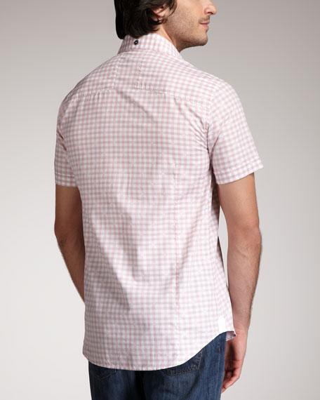 Check Short-Sleeve Shirt