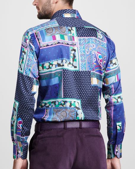 Multi-Paisley-Print Shirt