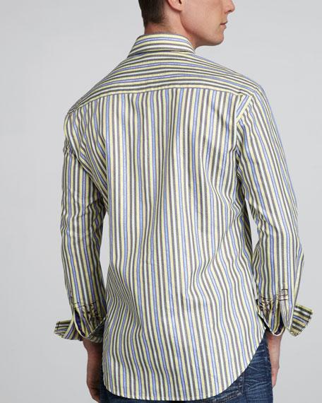 Coronation Striped Sport Shirt
