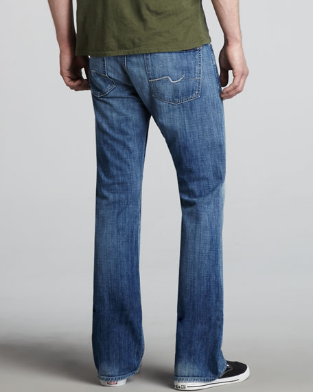 Brett Modern Bootcut Summer Shower Jeans
