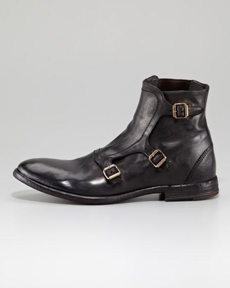 triple strap shoes - Black Alexander McQueen KHR3ADNbaU
