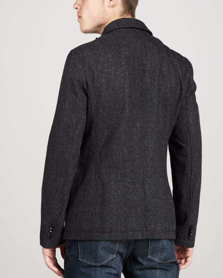 Quilt-Liner Sport Coat, Flint