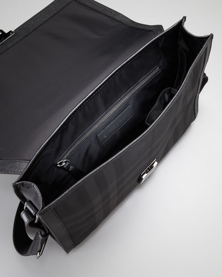 Nylon & Leather Briefcase