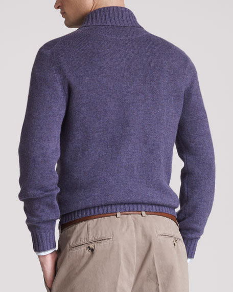 Shawl-Collar Sweater, Mirto