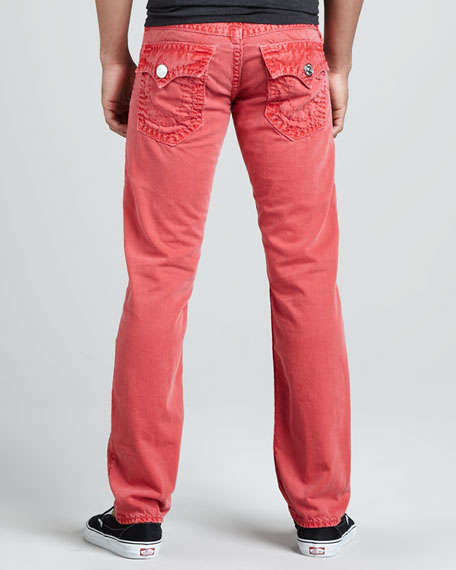 Jack Overdyed PX Red Jeans