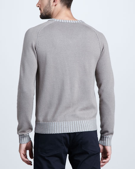 Wool Raglan Sweater