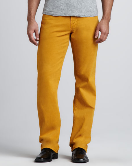 Protege Yellow Jeans