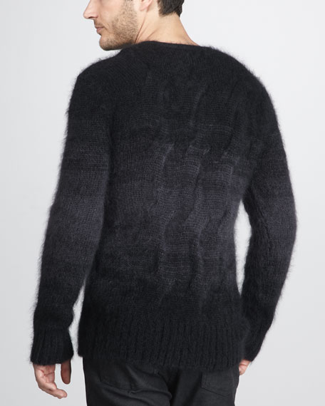 Ombre Cable Sweater
