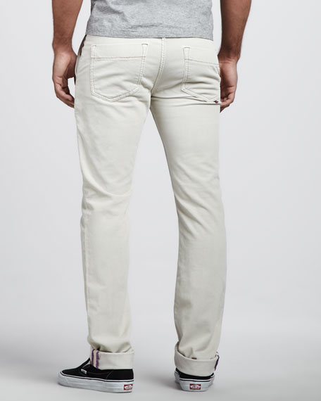 Corduroy Pants, Off White