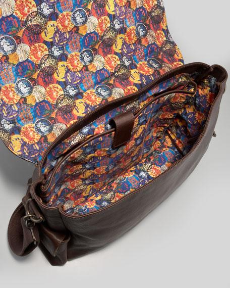 Waite Flap Messenger Bag