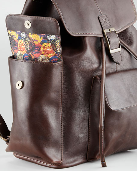 Bonham Leather Backpack