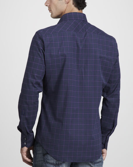 Handley Plaid Sport Shirt
