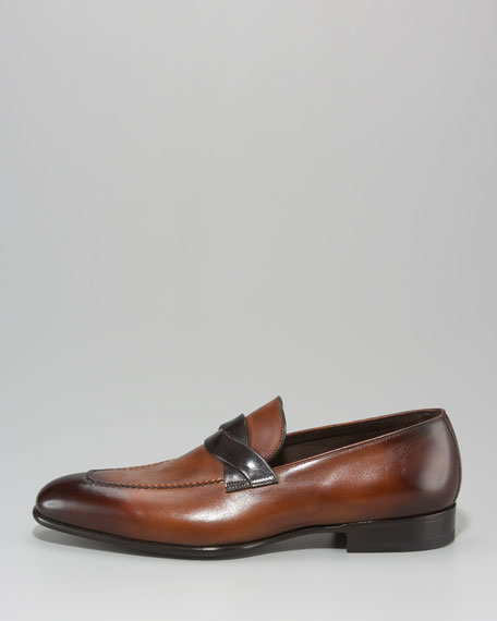 Cross-Strap Loafer