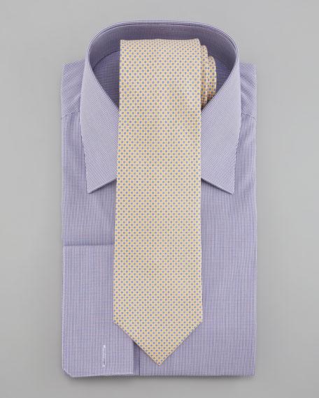 Silk Flower Tie, Yellow