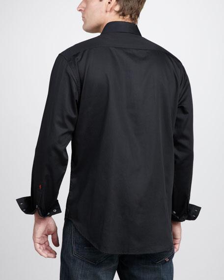 Mastriani Scrollwork Sport Shirt