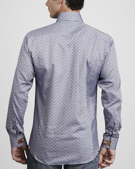 Chain Chevron Sport Shirt