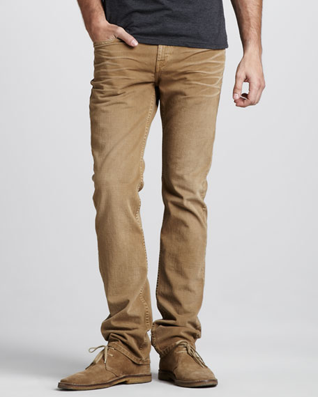 Kane Weathered Timber Jeans