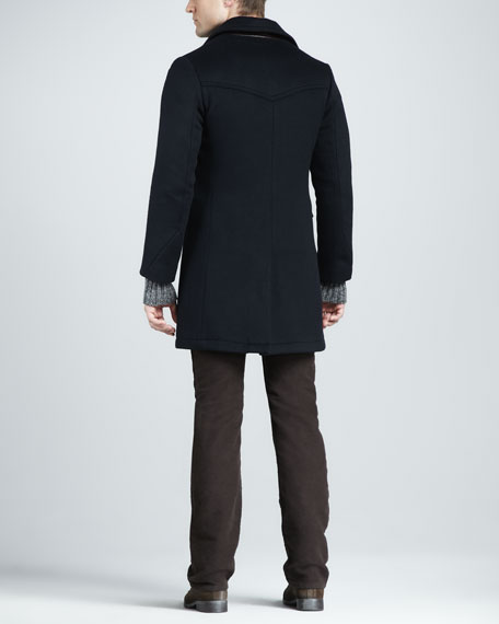 Wool Bowery Coat