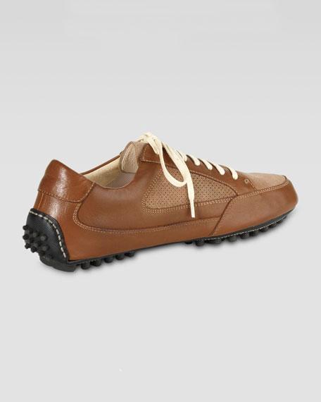 Air Grant Leather Sneaker, Cognac