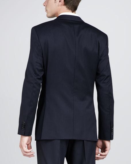 Double-Track Pinstripe Jacket
