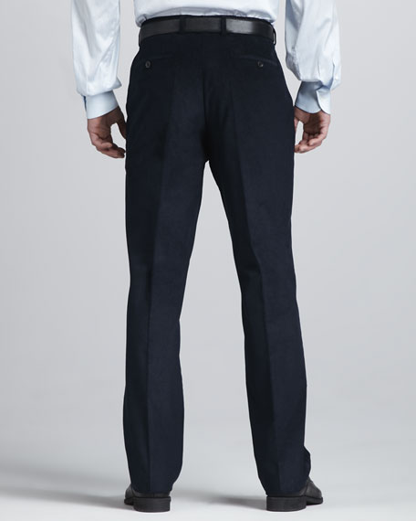 Corduroy Pants, Navy