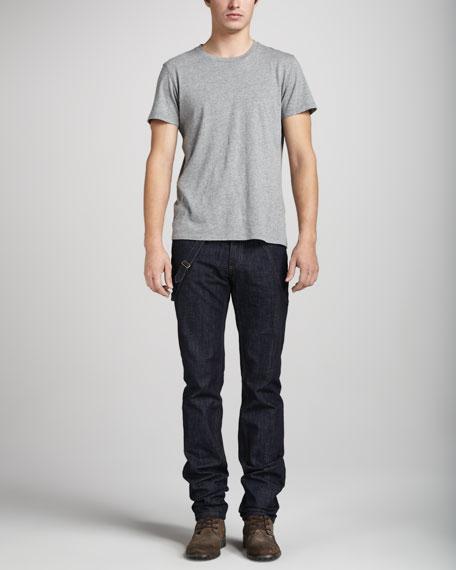 Dark Harness Jeans