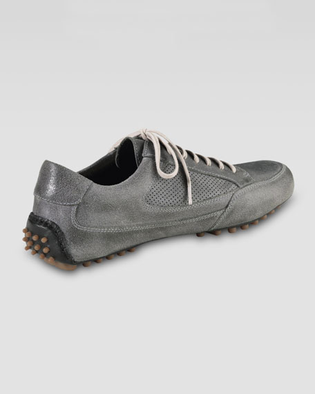 Air Grant Leather Sneaker, Gray
