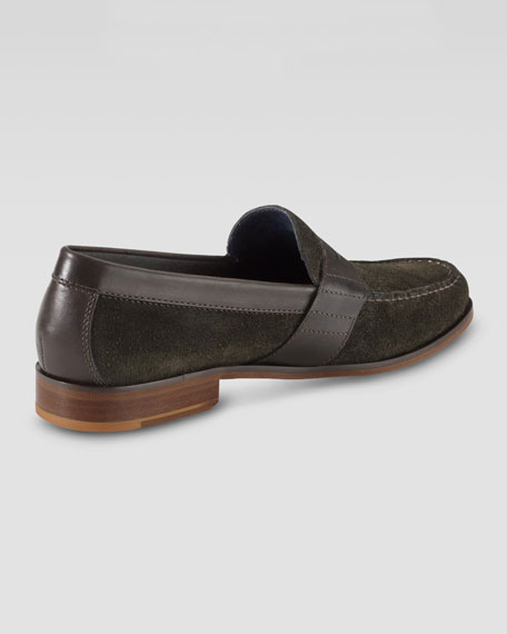Air Monroe Suede Penny Loafer