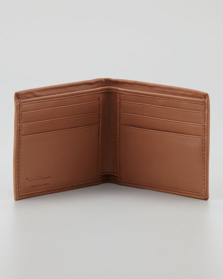 Tribute Gancini Wallet, Tan