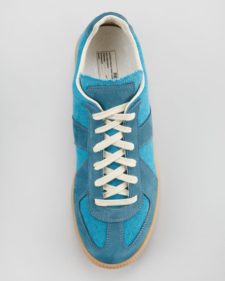 Replica Sneaker, Bright Blue