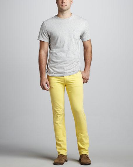 Brixton Slim Prime Yellow Jeans