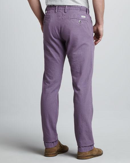 Bayside Canvas Pants, Lavender