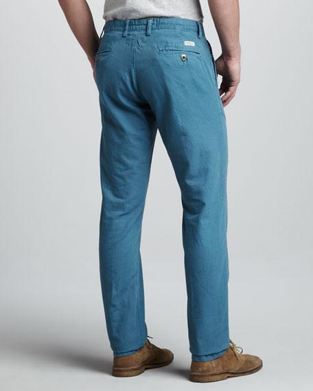 Bayside Canvas Pants, Wedgewood