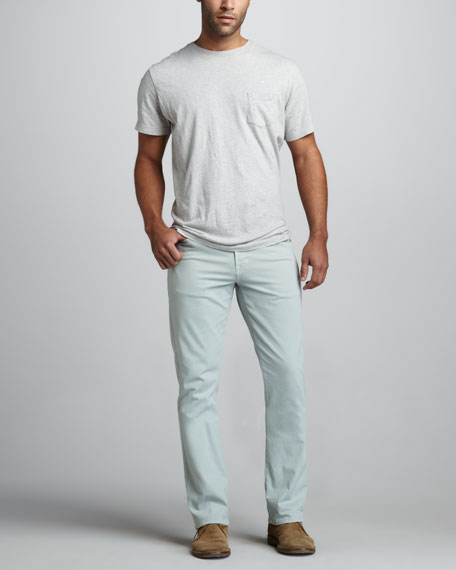 Protege Straight-Leg Dusty Mint Jeans